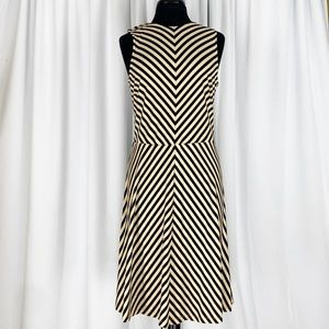 J.Mclaughlin Multi Pattern Striped Stretch Sheath